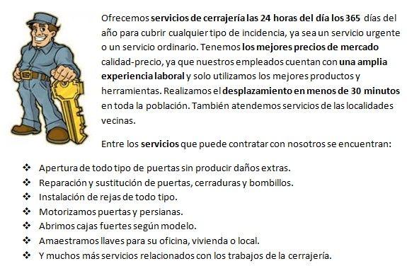 cerrajeros en Salobreña 24 horas urgencias